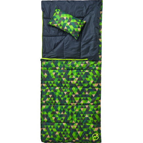 Magellan Outdoors Boys' 45 Degree F Reversible Sleeping Bag with Pillow