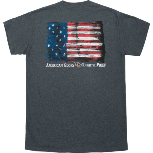 New World Graphics Men's University of Central Florida Flag Glory T-shirt - view number 4