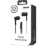 iWorld Nova Earbuds with Microphone - view number 2