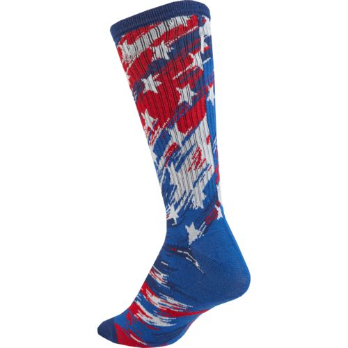 BCG Women's Americana Abstract Flag Crew Socks - view number 2
