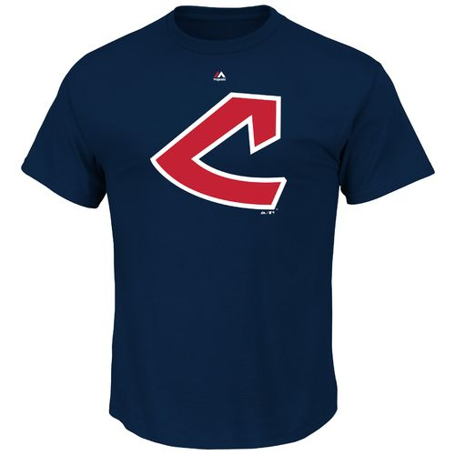 Majestic Men's Cleveland Indians 1948 Cooperstown Collection Short Sleeve T-shirt - view number 1