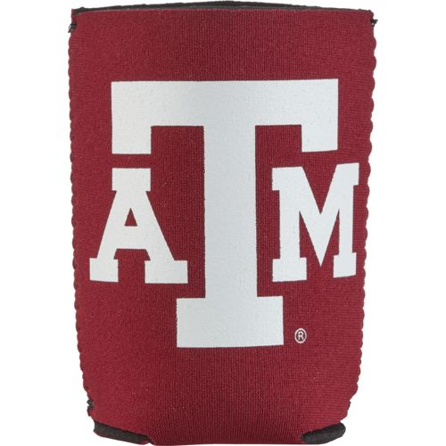 Kolder Kaddy Texas A&M University 2017 Football Schedule 12 oz Can Insulator - view number 1