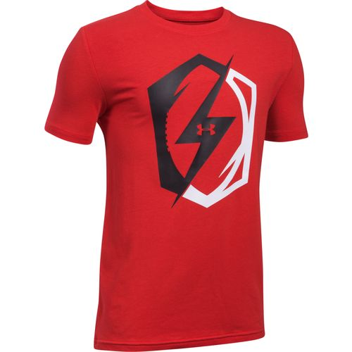 Under Armour Boys' Pride of Football Short Sleeve T-shirt