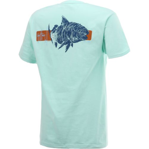 Guy Harvey Men's Ginger Logo T-shirt - view number 3