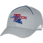 adidas Men's Louisiana Tech University Coach Structured Flex Cap - view number 1