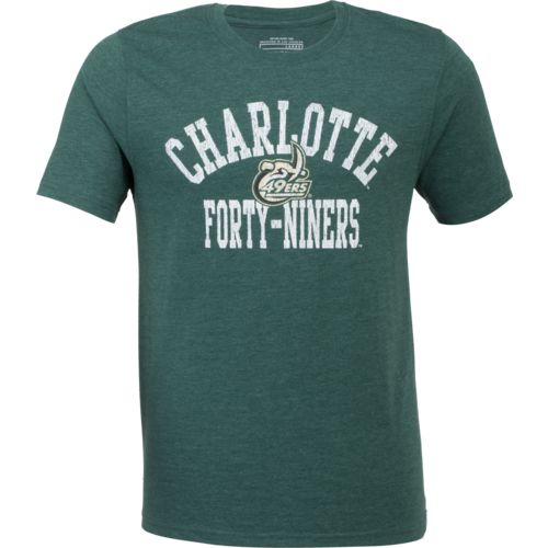 Colosseum Athletics Men's University of North Carolina at Charlotte Vintage T-shirt