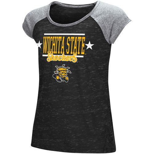 Colosseum Athletics Girls' Wichita State University Sprints T-shirt - view number 1