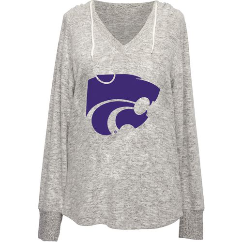 Chicka-d Women's Kansas State University V-neck Hoodie