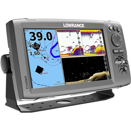 Lowrance HOOK-9 Mid/High DownScan Sonar/GPS Chartplotter Combo - view number 2