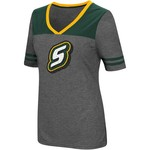 Colosseum Athletics Women's Southeastern Louisiana University Twist V-neck 2.3 T-shirt - view number 1