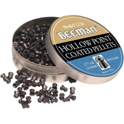 Beeman .177 Caliber Hollow Point Hunting Pellets 500-Pack