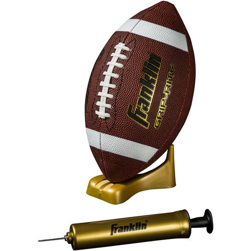 Franklin Junior Grip-Rite Football and Pump Set - view number 1