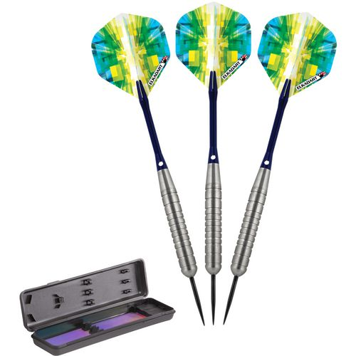 Elkadart Prism Ringed 24 g Steel-Tip Darts 3-Pack