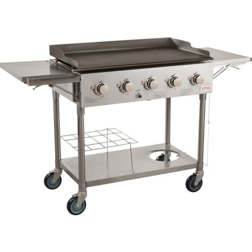Outdoor Gourmet 5-Burner SS Griddle - view number 2