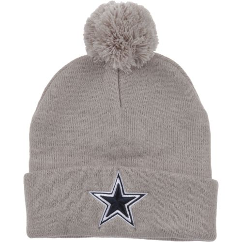 Dallas Cowboys Men's Basic Pom Knit Cap