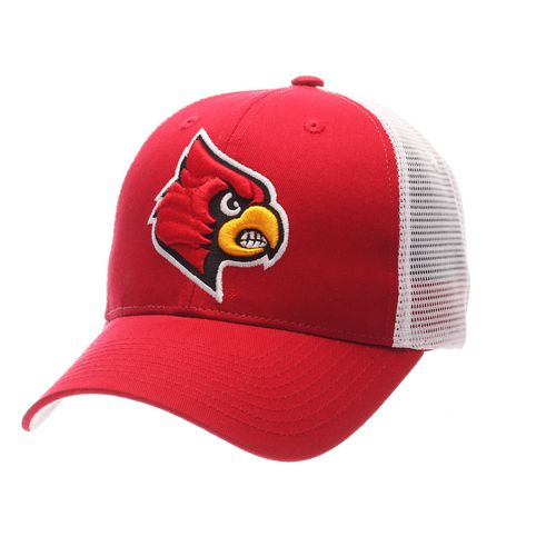 Zephyr Men's University of Louisville Big Rig 2-Tone Mesh Back Cap