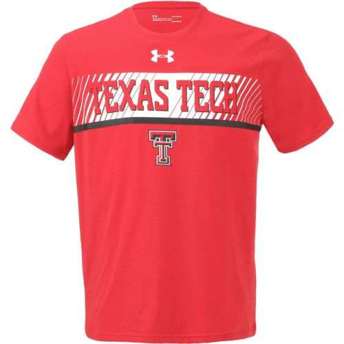 Under Armour Men's Texas Tech University Charged Cotton Off Shore Deco T-shirt