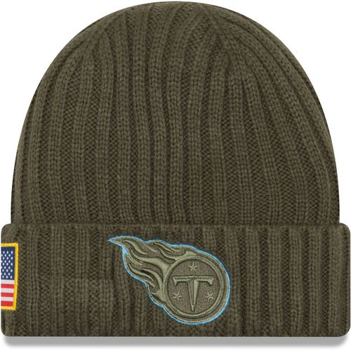 New Era Men's Tennessee Titans Salute to Service '17 Knit Cap