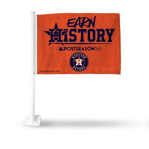 Rico Houston Astros Earn History Car Flag