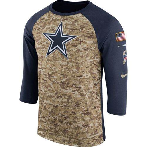 Dallas Cowboys Nike Boys' Salute To Service Legend Raglan T-shirt