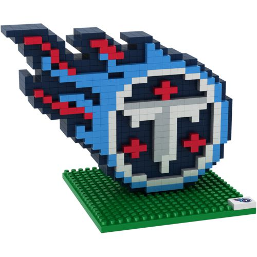 Forever Collectibles Tennessee Titans 3-D BRXLZ Logo Puzzle