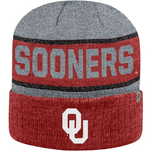Top of the World Men's University of Oklahoma Below Zero Cuff Knit Hat