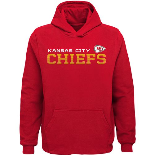NFL Boys' Kansas City Chiefs Next Level Fleece Hoodie