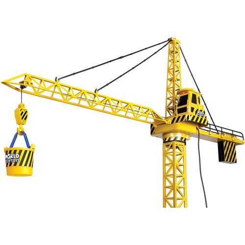 World Tech Toys Big Kids' Construction 4 ft Motorized RC Crane - view number 1