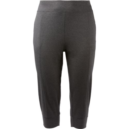 Display product reviews for BCG Women's French Terry Plus Size Jogger Capri Pants