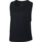 Nike Women's Dry Top Muscle Cropped Tank Top - view number 2