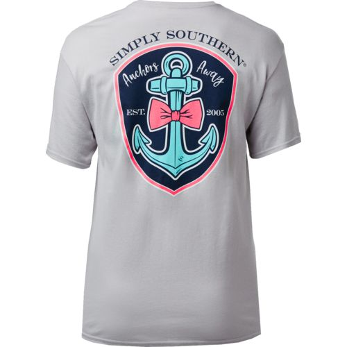 Simply Southern Women's Logo Anchor T-shirt