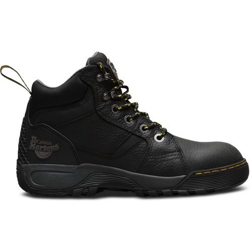Dr. Martens Adults' Grapple Steel Toe Lace Low Work Boots