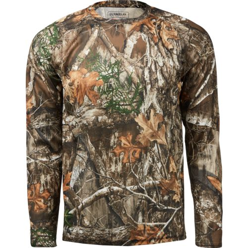 Display product reviews for Magellan Outdoors Men's Eagle Pass Long Sleeve Mesh Shirt