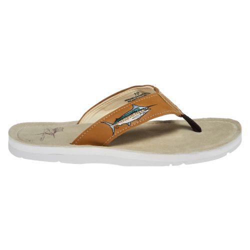 Guy Harvey Men's Blue Marlin Sandals