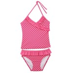 O'rageous® Girls' Ruffle Tankini Swimsuit