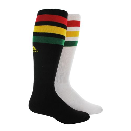 adidas Adults' Rivalry Multicourt Team Socks 2-Pack