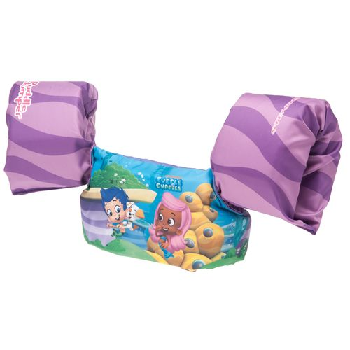 Stearns Kids  Puddle Jumper Deluxe Bubble Guppies Life Vest