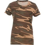 Game Winner® Women's Short Sleeve Camo T-shirt
