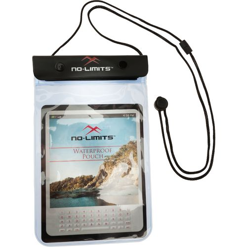 No Limits™ E-reader/Tablet Waterproof Pouch