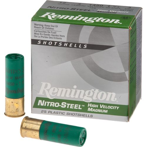 Display product reviews for Remington Nitro-Steel High-Velocity Magnum Load 12 Gauge Shotshells