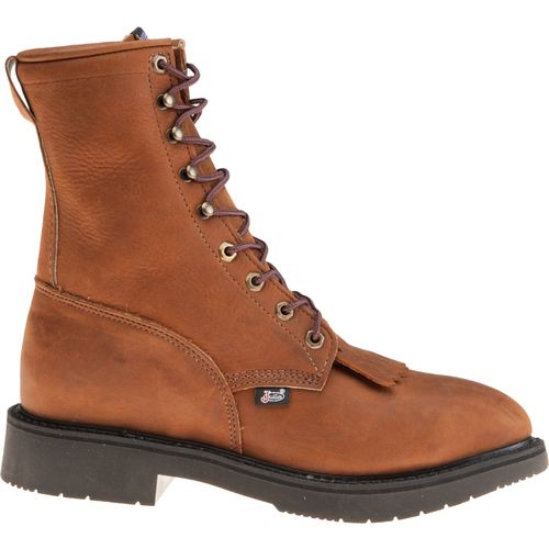 Justin Men's Aged Bark Work Boots