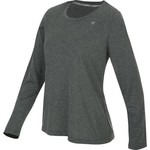 Champion Women's Powertrain Long Sleeve Heather T-shirt