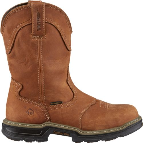 Display product reviews for Wolverine Men's Anthem Western Wellington Work Boots
