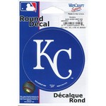 "WinCraft Kansas City Royals 3"" Round Decal"
