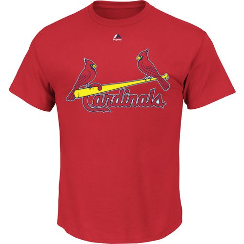 Majestic Men's St. Louis Cardinals Wordmark T-shirt