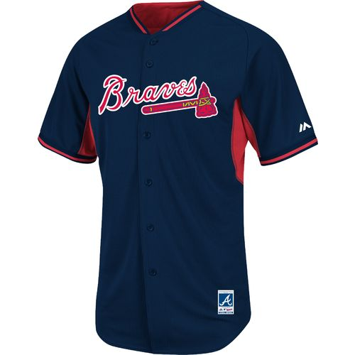 Majestic Men's Atlanta Braves Cool Base® Batting Practice