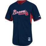 Majestic Men's Atlanta Braves Cool Base® Batting Practice Jersey