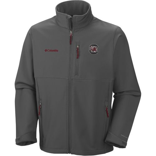 Columbia Sportswear Men s University of South Carolina Collegiate Ascender  Softshell Jacke