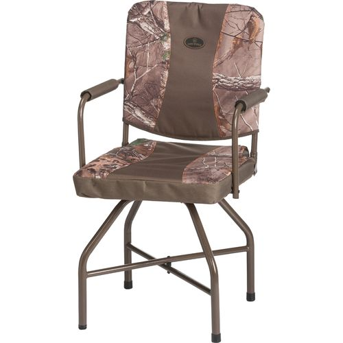 Display product reviews for Game Winner® Realtree Xtra® Swivel Blind Chair
