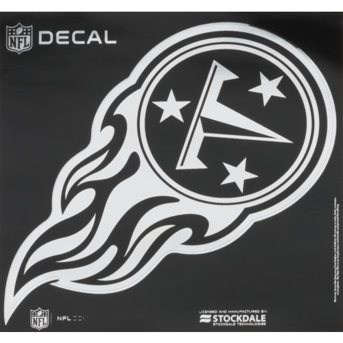 Tennessee Titans 8 X 8 Arched Logo Decal